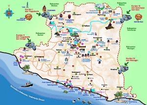 Peta Wisata Gunung kidul